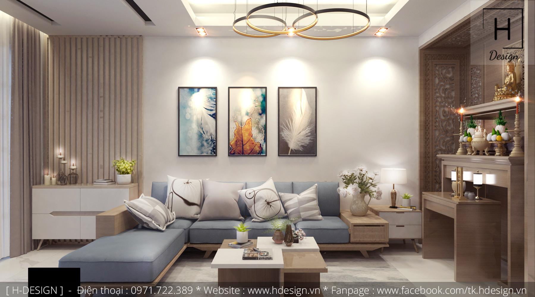 Thiết kế thi công nội thất nhà phố đẹp tại Mễ Trì - Hà Nội 5