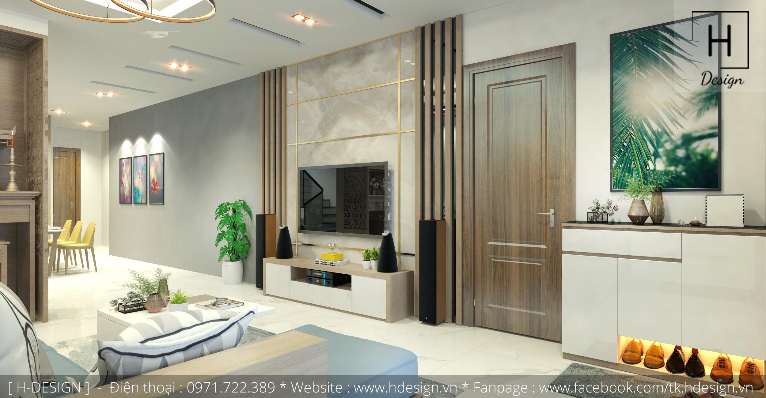 Thiết kế thi công nội thất nhà phố đẹp tại Mễ Trì - Hà Nội
