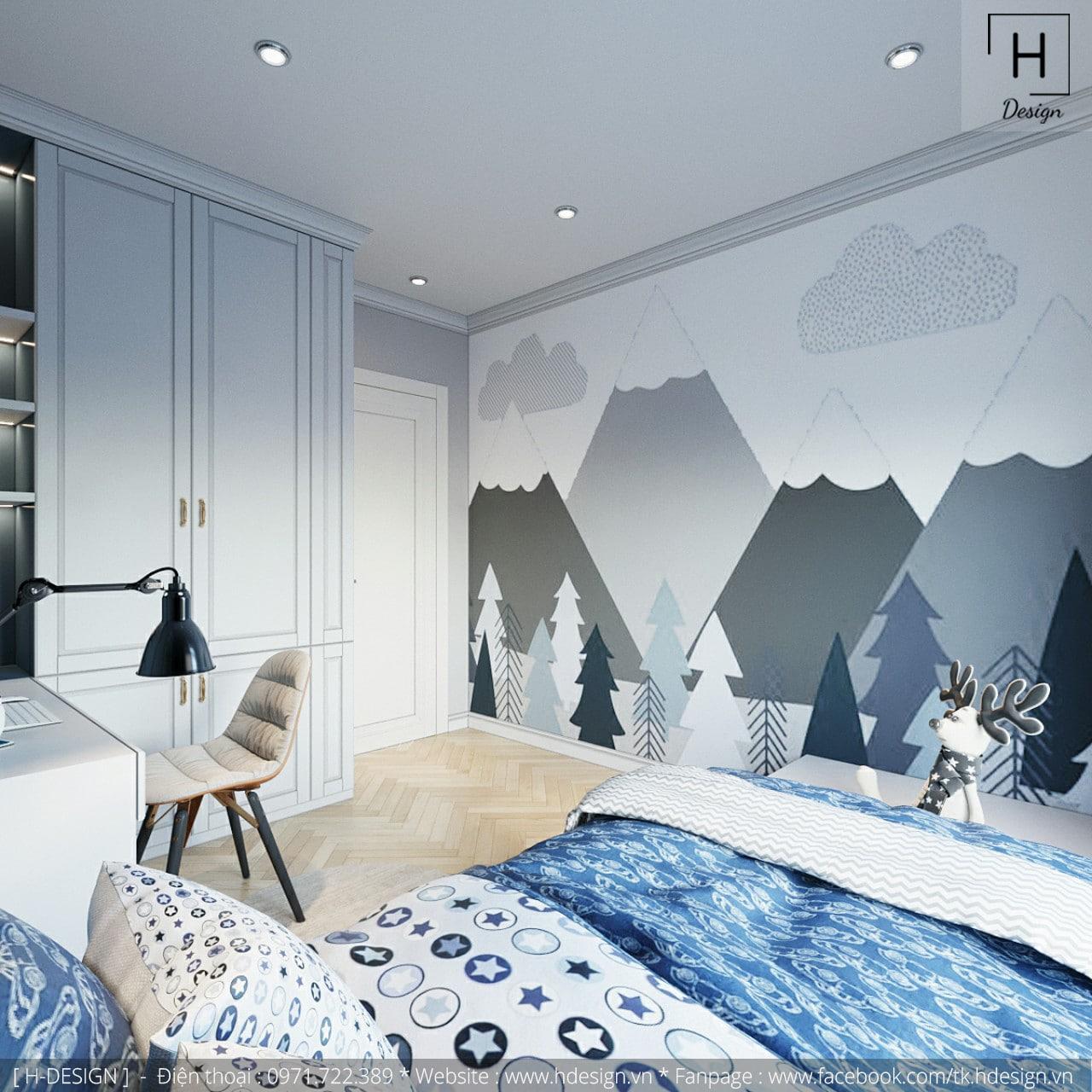 Thiết kế thi công nội thất chung cư Kosmo tại Hà Nội 7