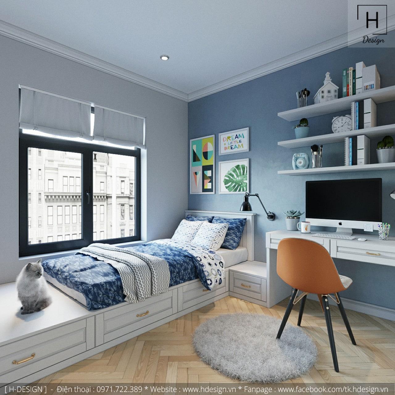 Thiết kế thi công nội thất chung cư Kosmo tại Hà Nội 8
