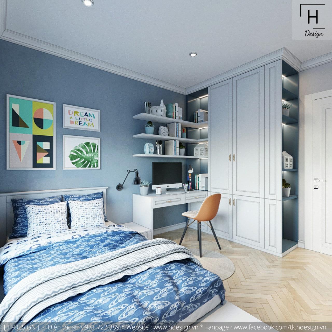 Thiết kế thi công nội thất chung cư Kosmo tại Hà Nội 6