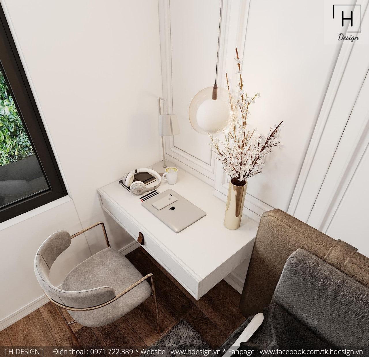 Thiết kế thi công nội thất đẹp cho căn hộ chung cư 86m2 -10