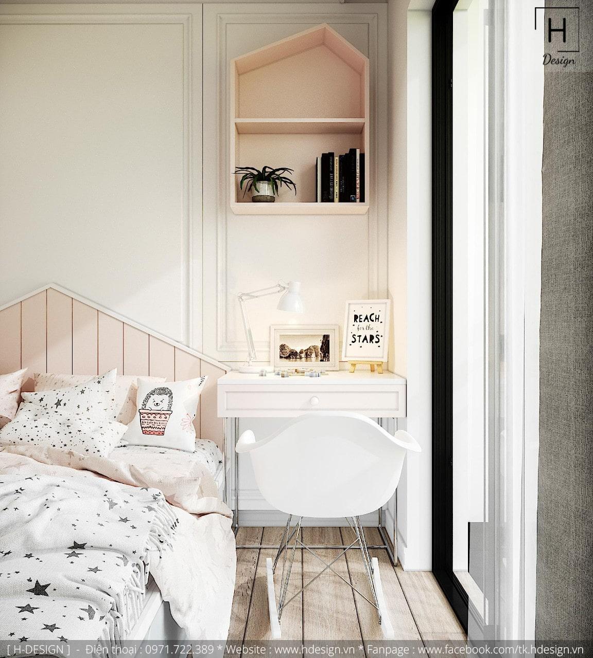 Thiết kế thi công nội thất đẹp cho căn hộ chung cư 86m2 -12