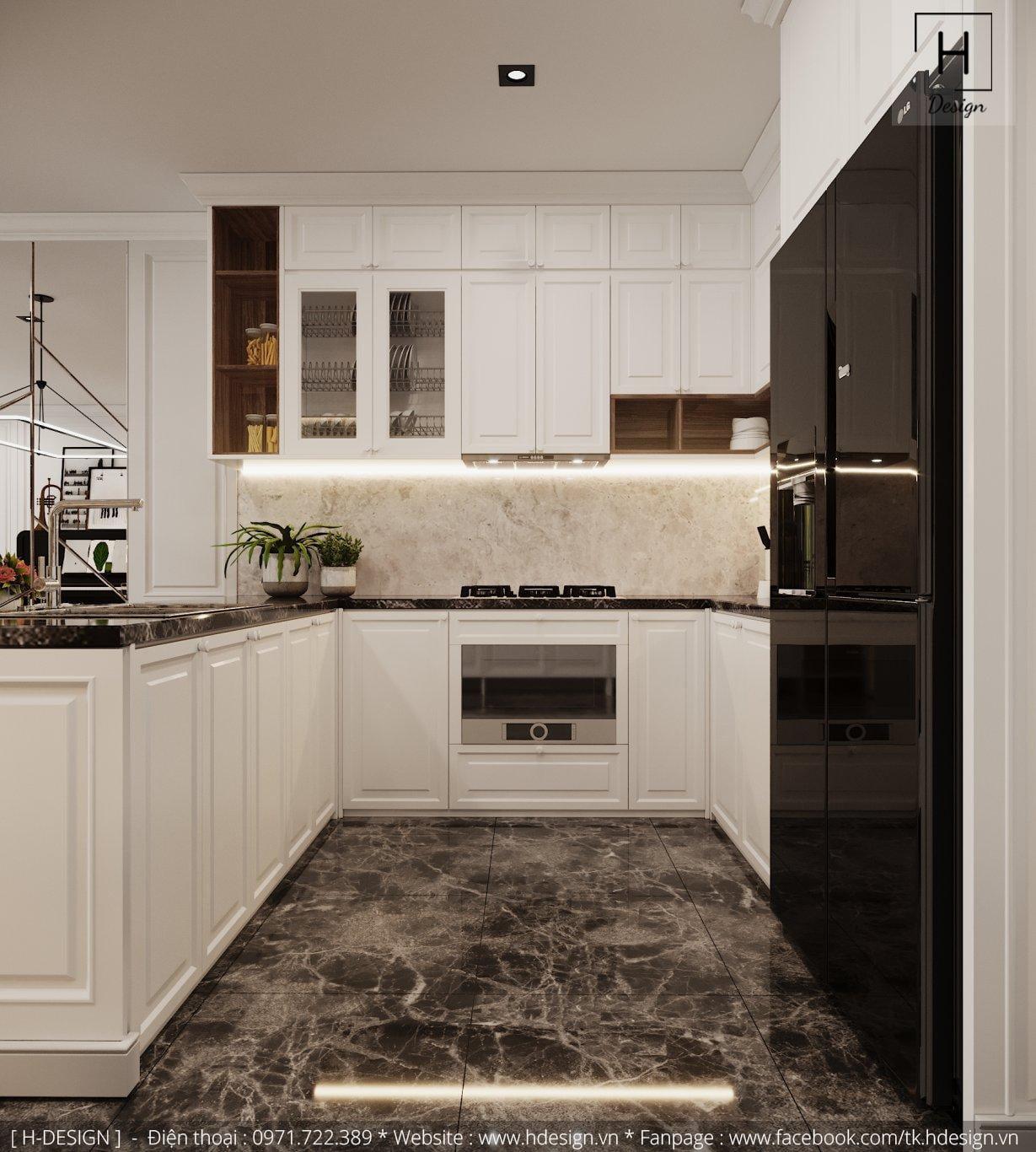 Thiết kế thi công nội thất đẹp cho căn hộ chung cư 86m2 -03