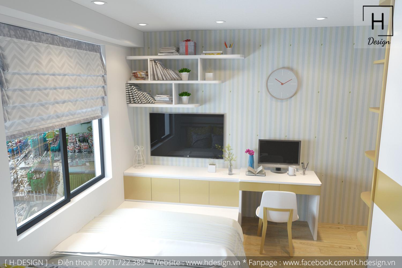 Thiết kế thi công nội thất chung cư đẹp tại Hà Nội - Hdesign