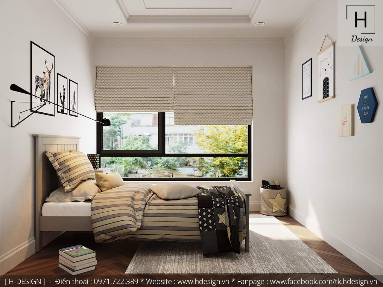 Thiết kế thi công nội thất chung cư D'Capital 9