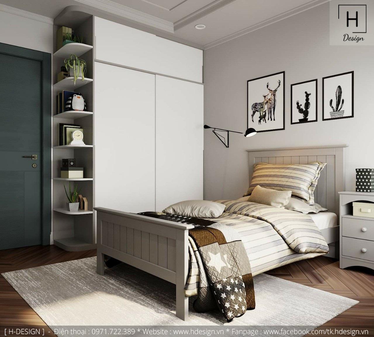 Thiết kế thi công nội thất chung cư D'Capital 10