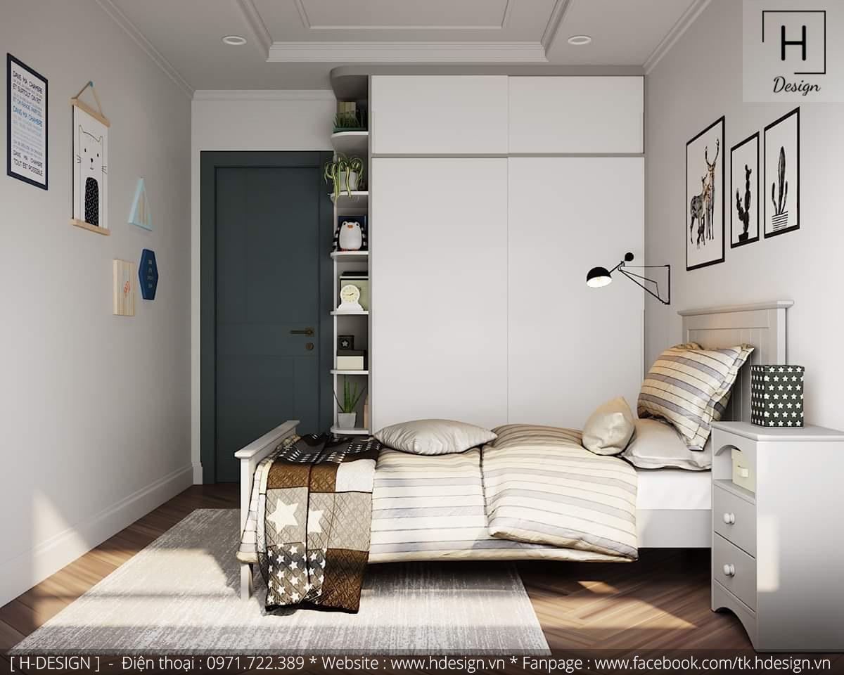 Thiết kế thi công nội thất chung cư D'Capital 11