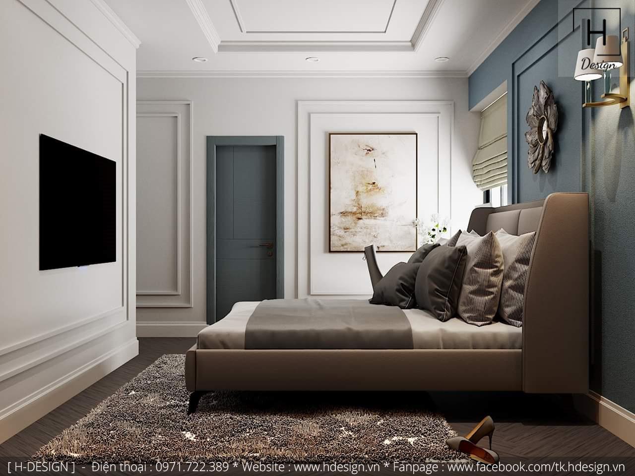 Thiết kế thi công nội thất chung cư D'Capital 12