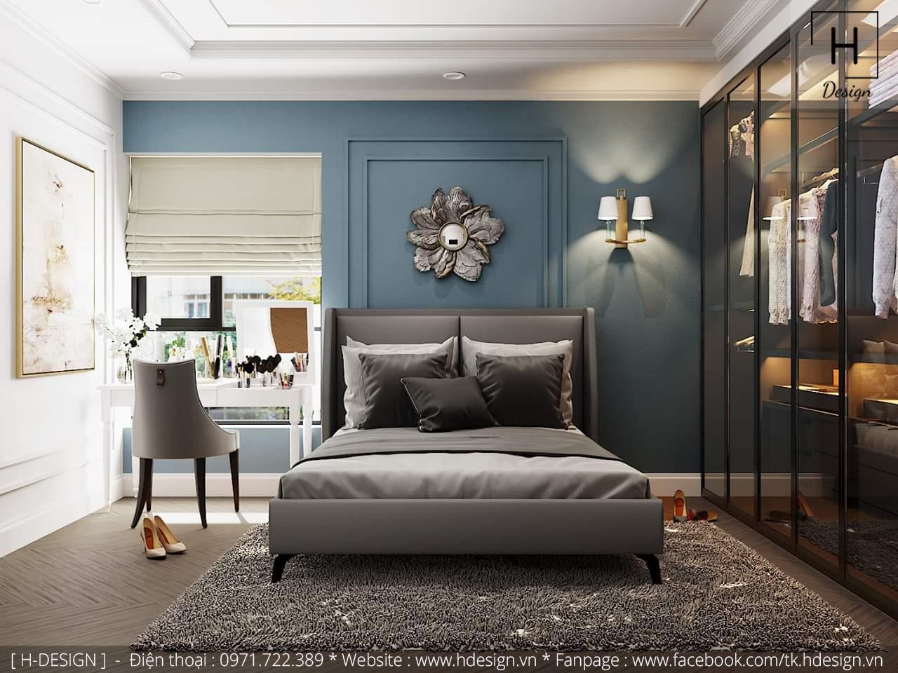 Thiết kế thi công nội thất chung cư D'Capital 13