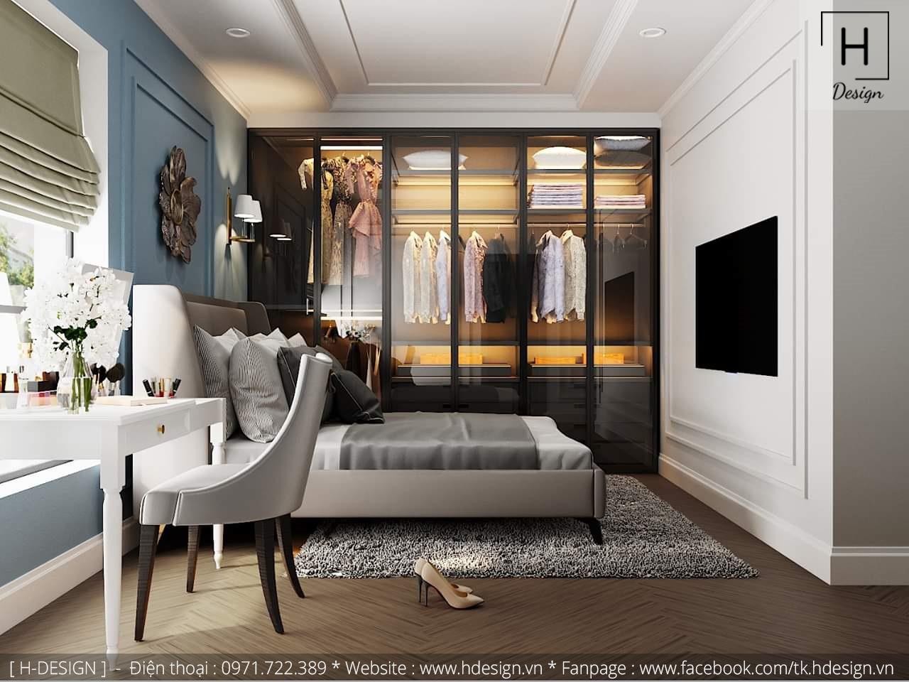 Thiết kế thi công nội thất chung cư D'Capital 14