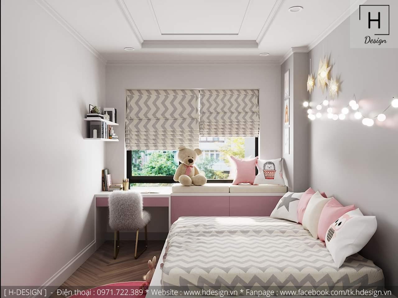 Thiết kế thi công nội thất chung cư D'Capital 15