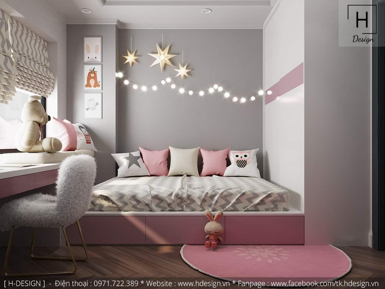 Thiết kế thi công nội thất chung cư D'Capital 16