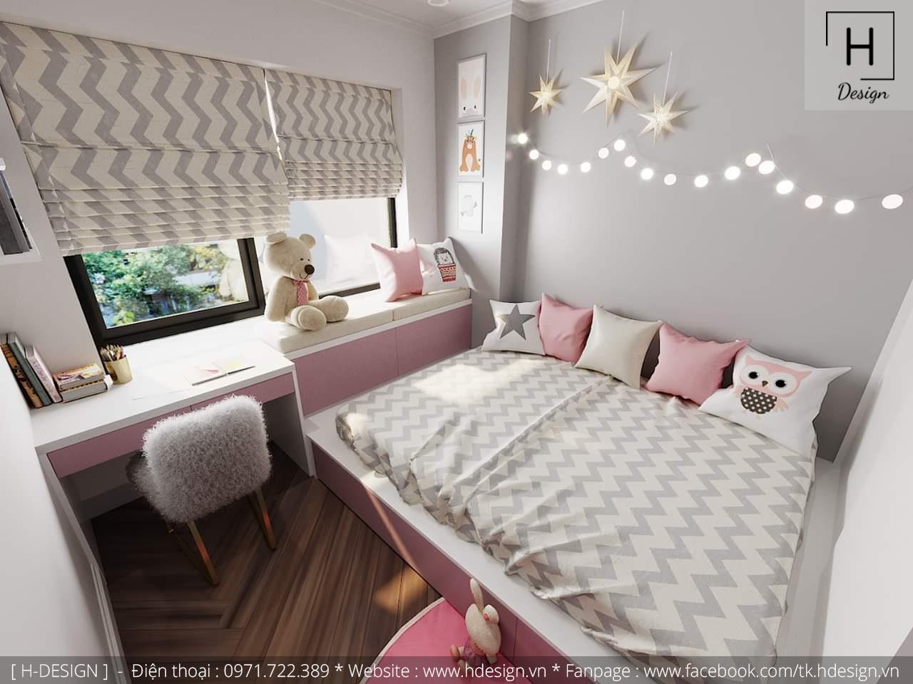 Thiết kế thi công nội thất chung cư D'Capital 17