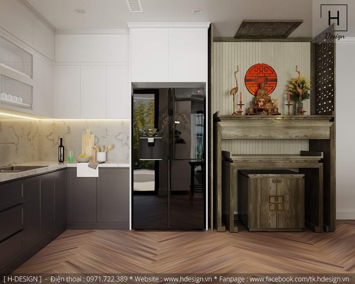 Thiết kế thi công nội thất chung cư D'Capital 5