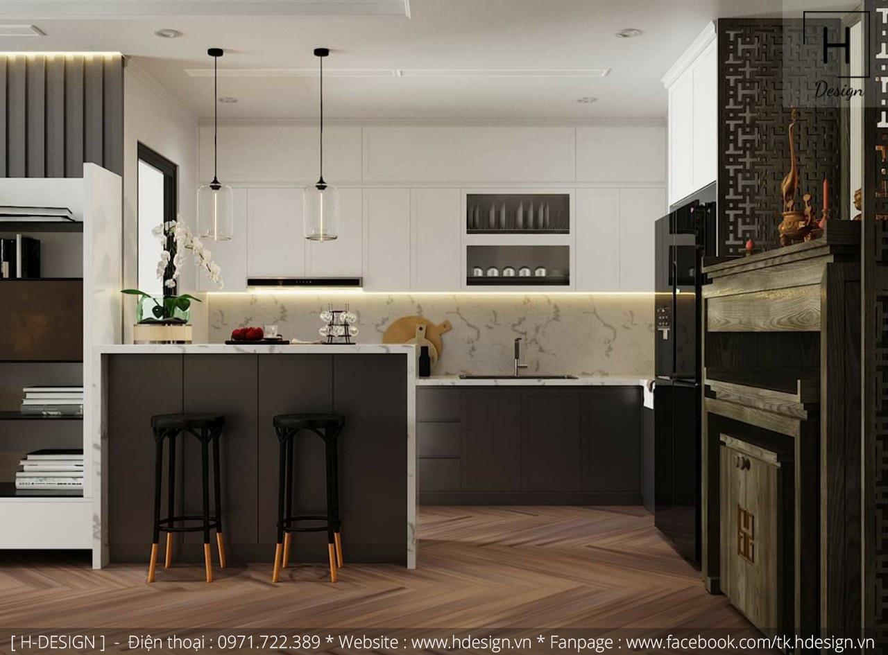 Thiết kế thi công nội thất chung cư D'Capital 7