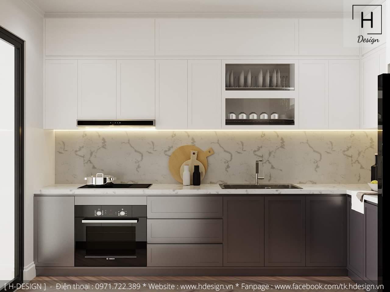 Thiết kế thi công nội thất chung cư D'Capital 6