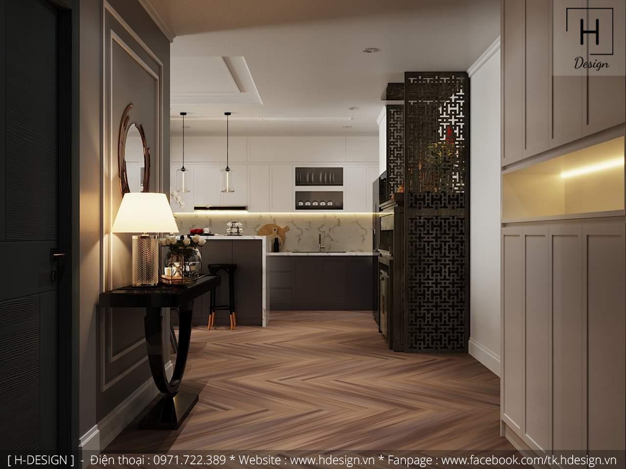 Thiết kế thi công nội thất chung cư D'Capital 8