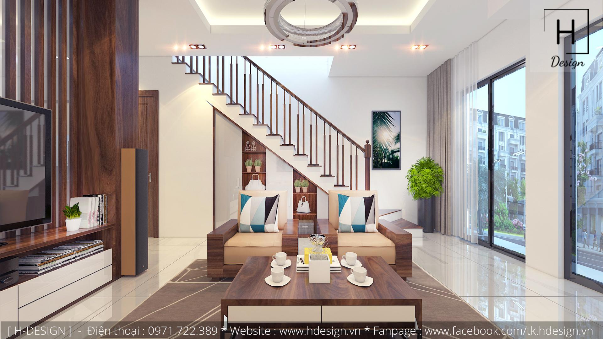 Thiết kế thi công nội thất nhà phố đẹp tại Tây Hồ - Hà Nội 1