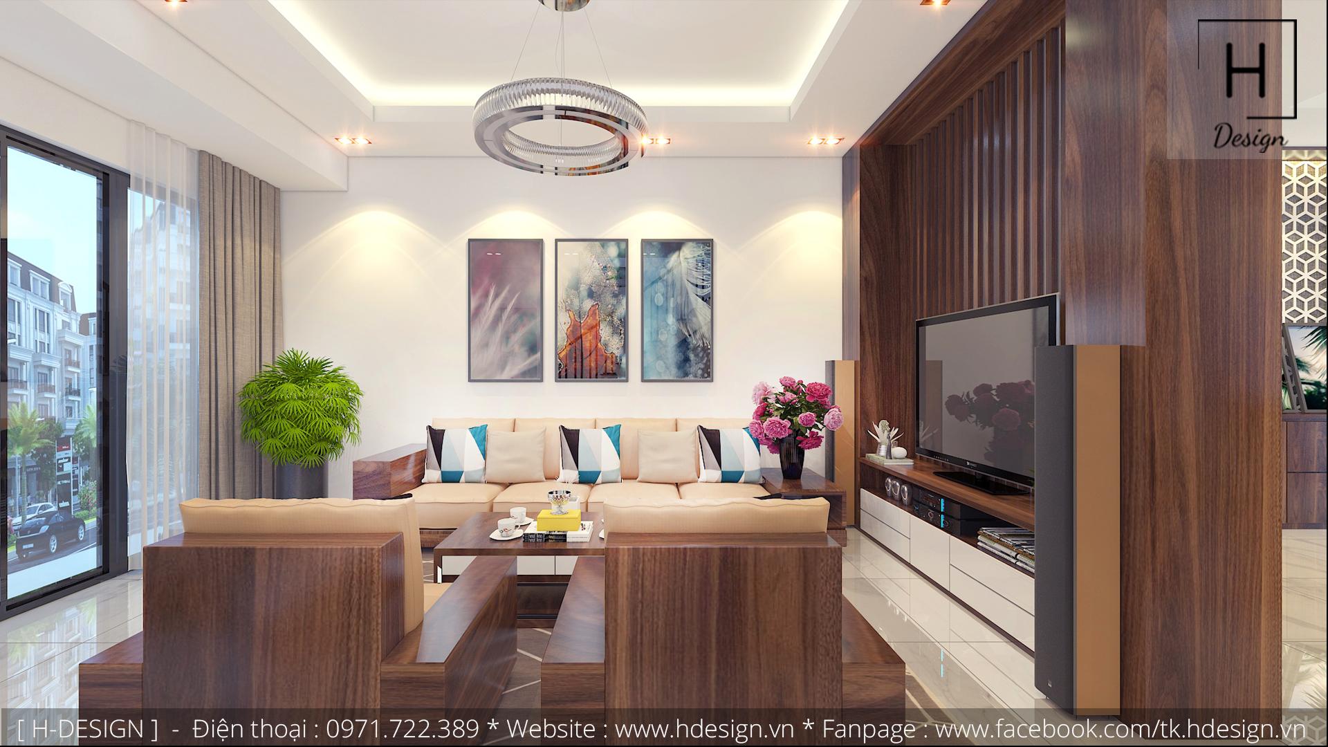 Thiết kế thi công nội thất nhà phố đẹp tại Tây Hồ - Hà Nội 2