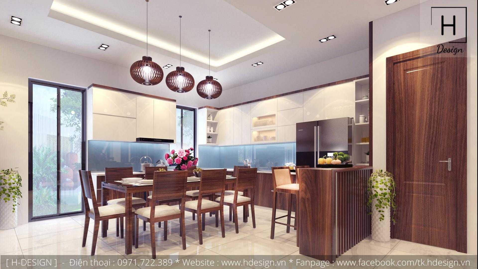 Thiết kế thi công nội thất nhà phố đẹp tại Tây Hồ - Hà Nội 4