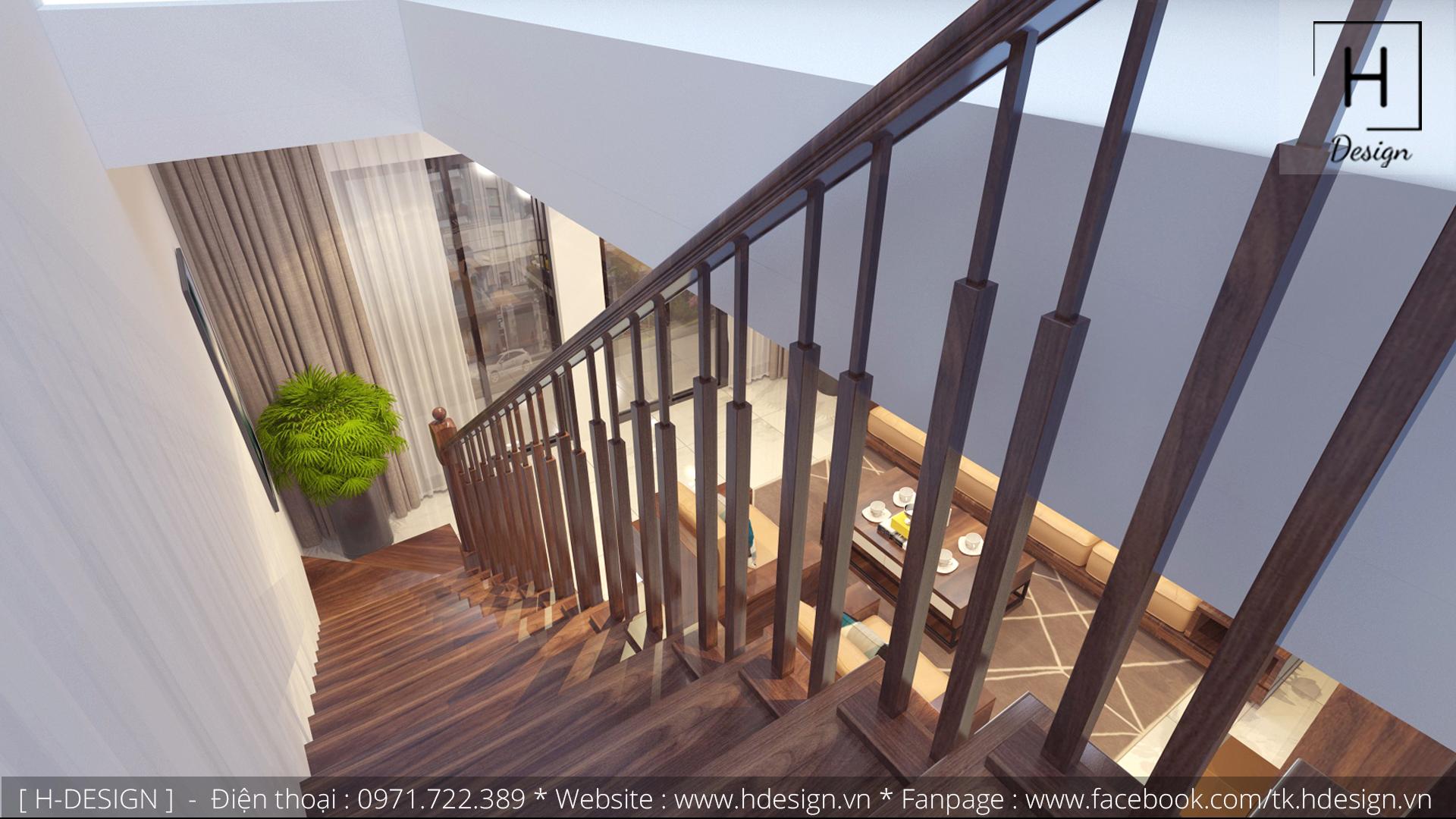 Thiết kế thi công nội thất nhà phố đẹp tại Tây Hồ - Hà Nội 6