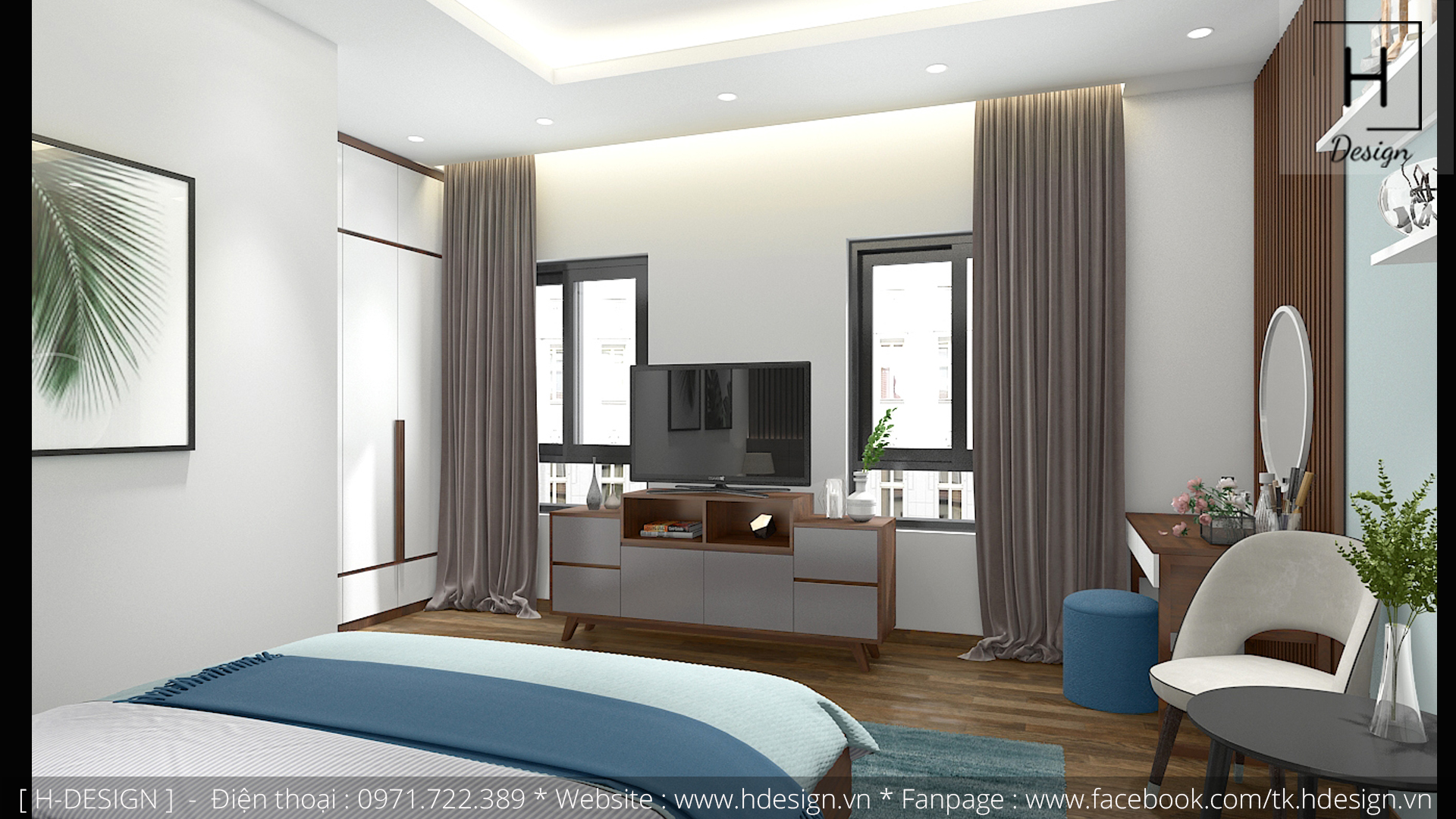 Thiết kế thi công nội thất nhà phố đẹp tại Tây Hồ - Hà Nội 10