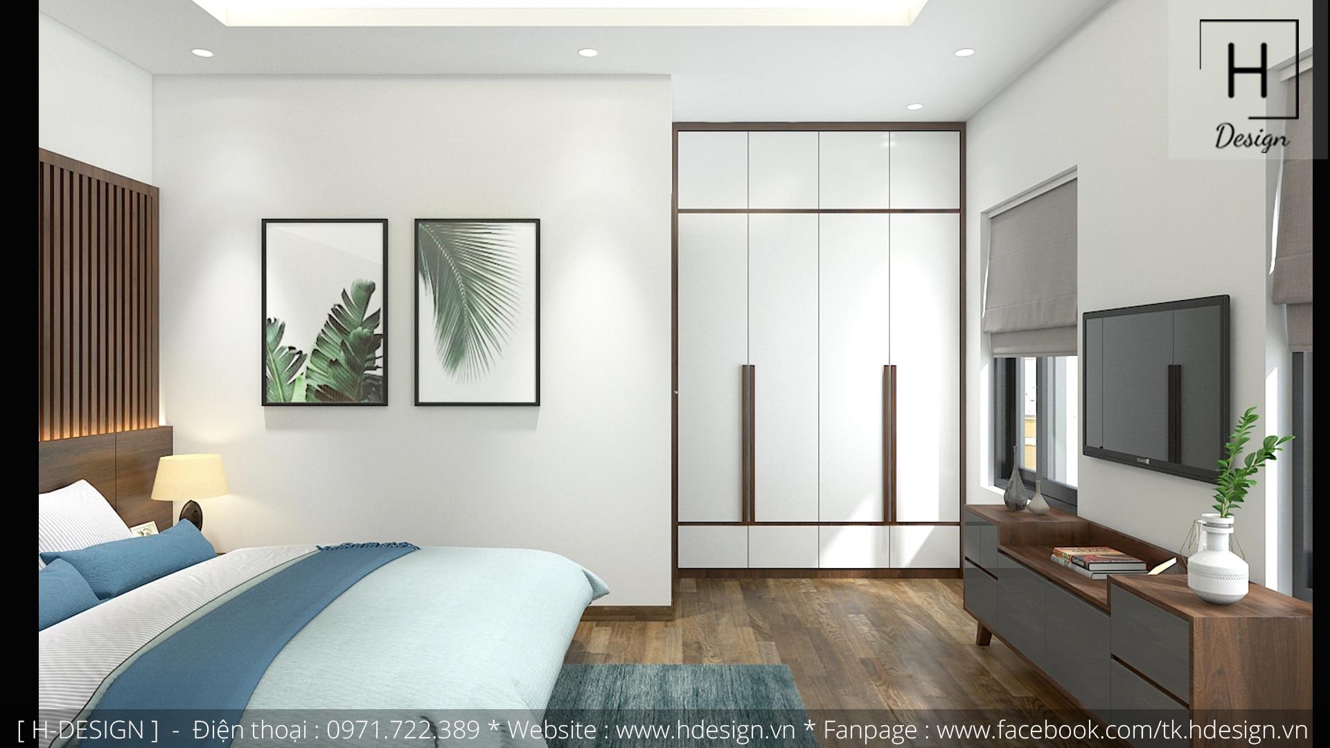Thiết kế thi công nội thất nhà phố đẹp tại Tây Hồ - Hà Nội 11