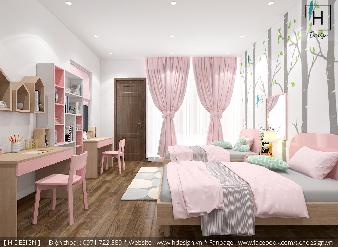 Thiết kế thi công nội thất nhà phố đẹp tại Mễ Trì - Hà Nội 14