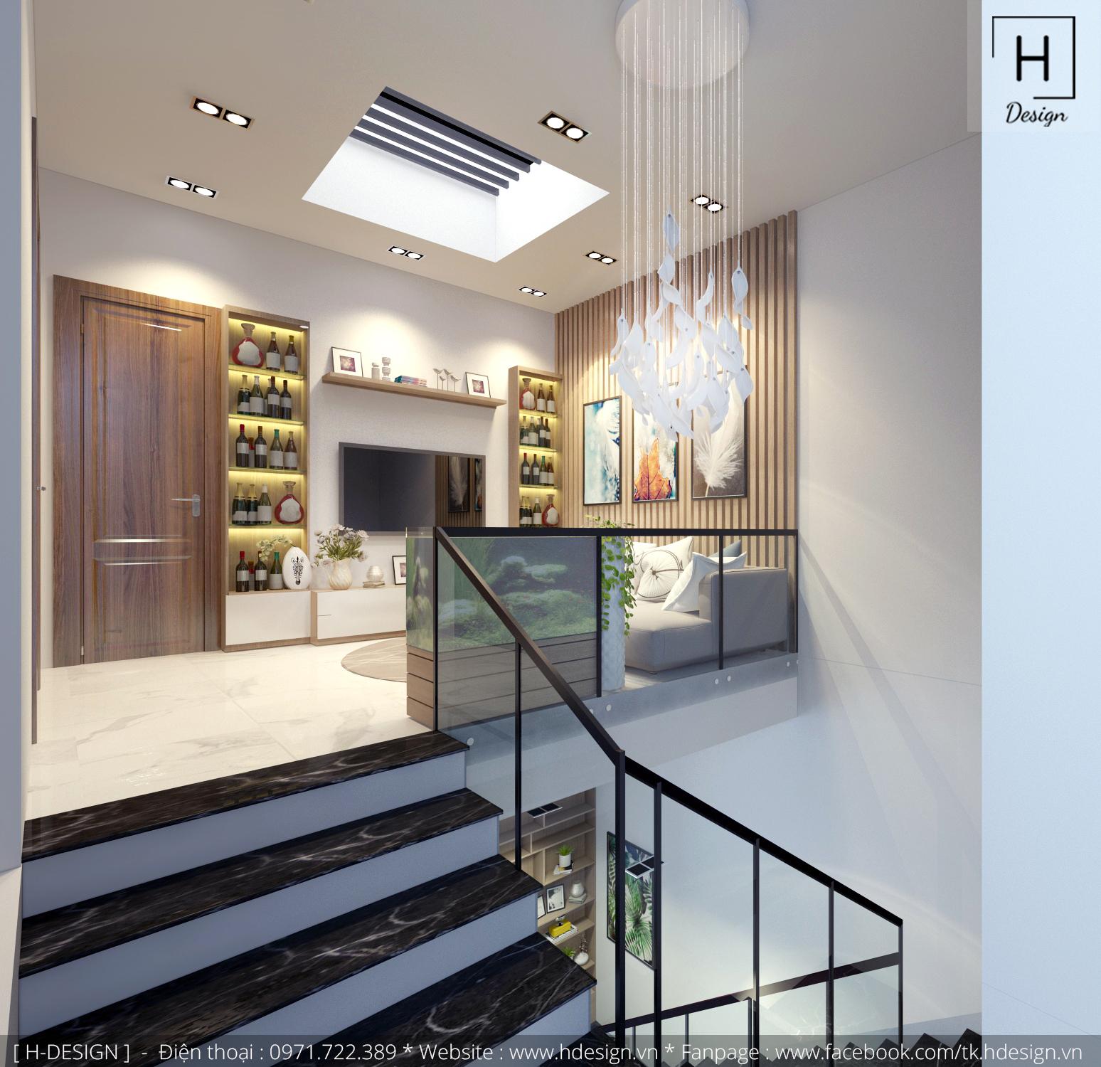 Thiết kế thi công nội thất nhà phố đẹp tại Mễ Trì - Hà Nội 17