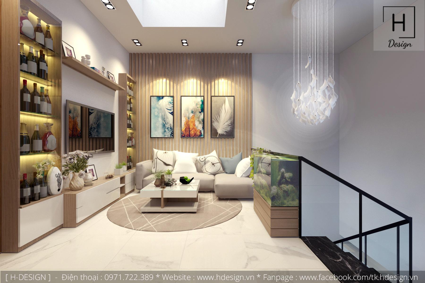 Thiết kế thi công nội thất nhà phố đẹp tại Mễ Trì - Hà Nội 18