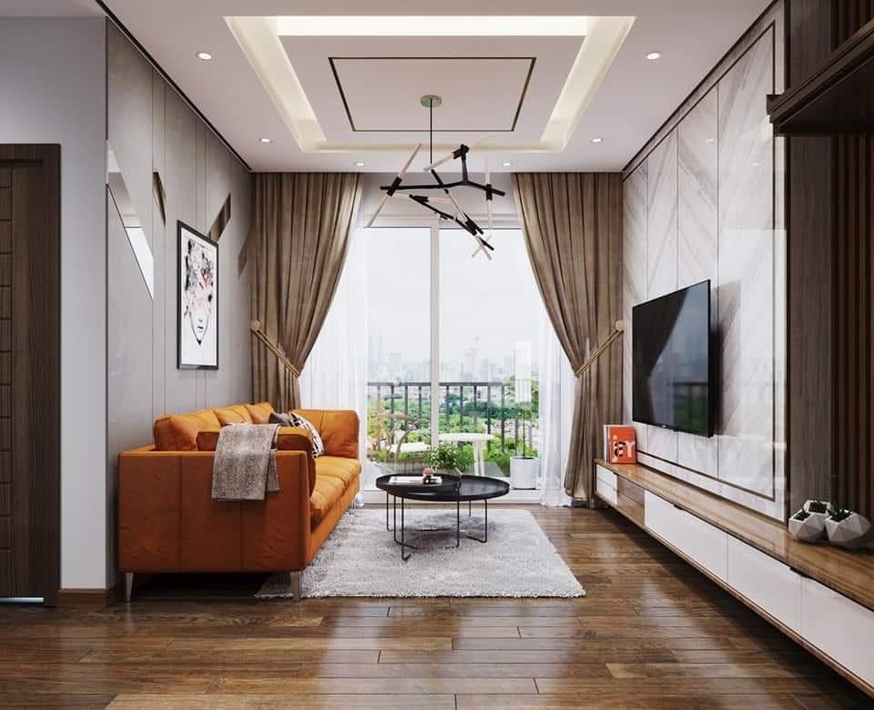 Thiết kế nội thất căn hộ chung cư 84m2 tại Kosmo Tây Hồ