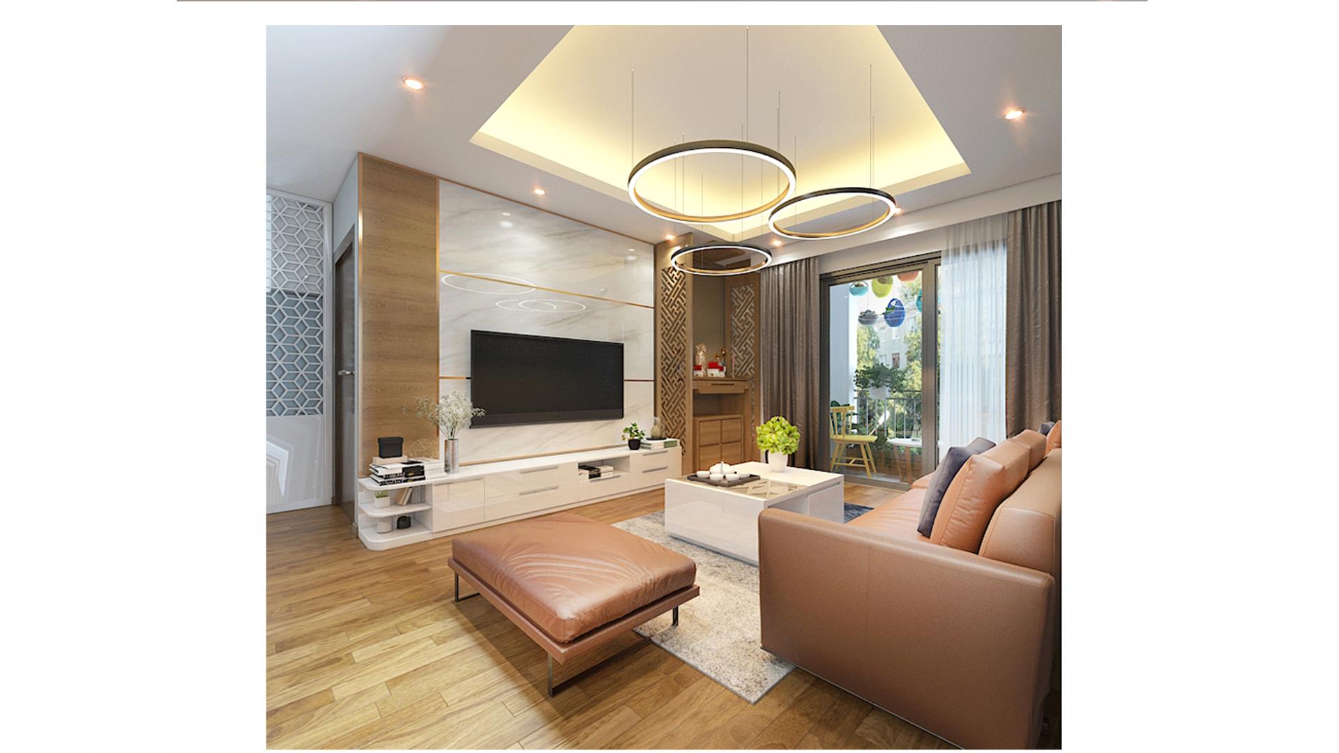 Mẫu thiết kế nội thất chung cư hiện đại đẹp 2020