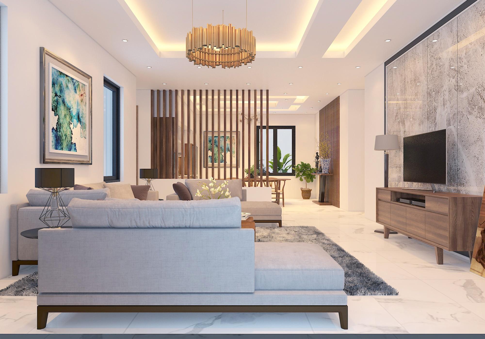 Nội thất nhà phố đẹp 2020