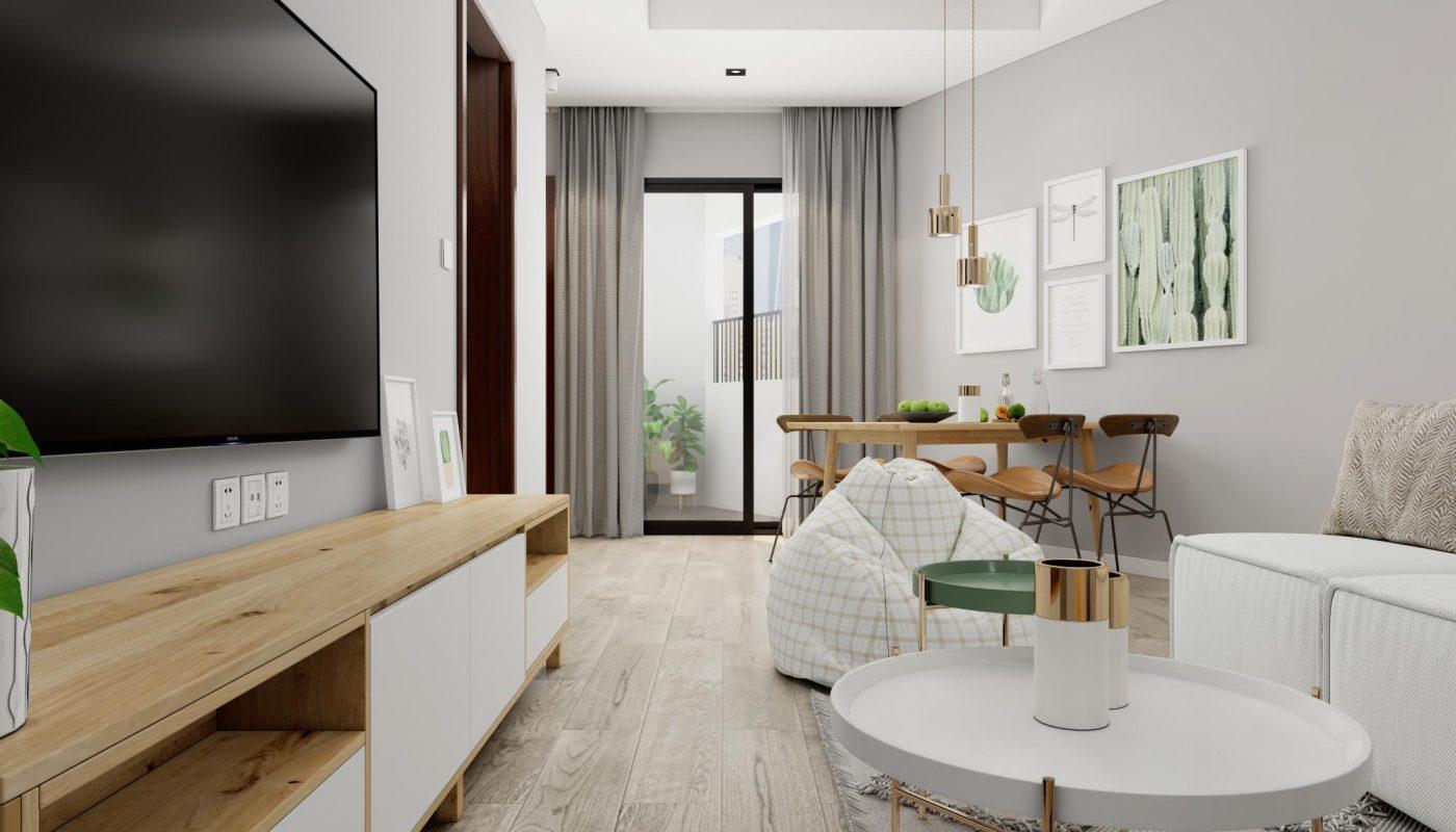 mẫu nội thất 2 phòng ngủ