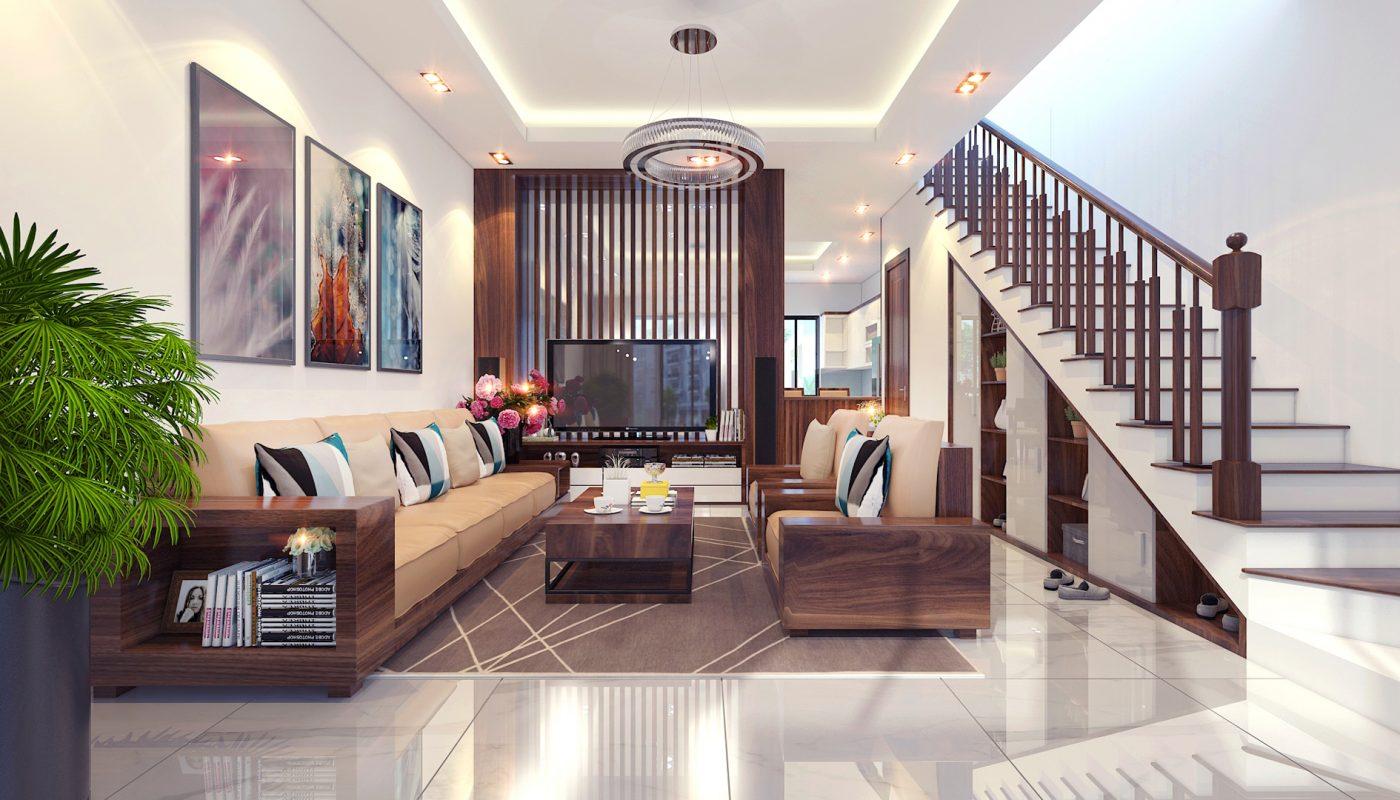 Thiết kế thi công nội thất nhà phố Tây Hồ - Hà Nội do Hdesign thiết kế