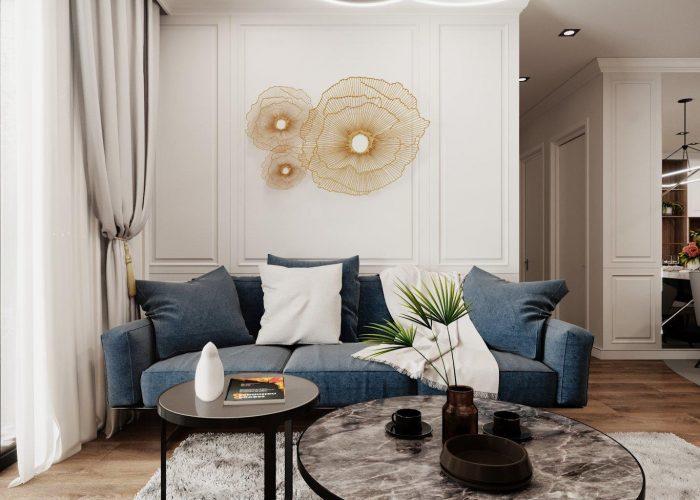 Thiết kế thi công nội thất chung cư Kosmo Tây Hồ - Hà Nội mới