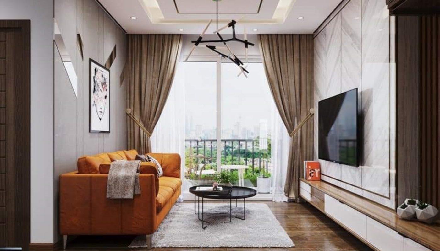 Thiết kế nội thất chung cư 2 phòng ngủ đẹp tại Kosmo Tây Hồ - Hà Nội